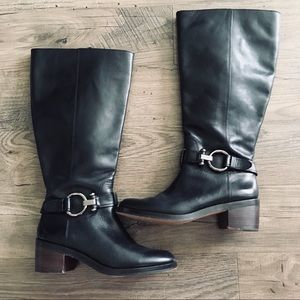 Coach Carolina Leather Boots